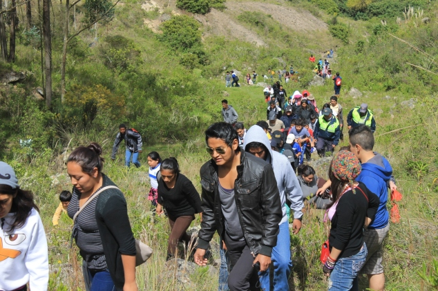Caminantes en Cuenca