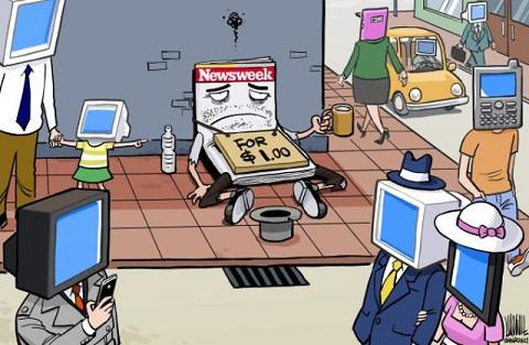 El periódico mendigo - Cortesía Internet